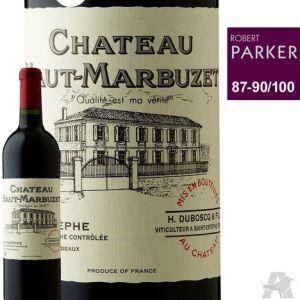 Château Haut-Marbuzet Saint-Estèphe Rouge 2012 | Auchan | Malin Shopper