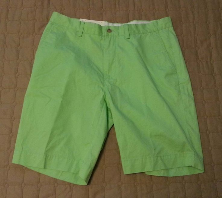#shorts men POLO Ralph Lauren 100% cotton men's shorts light green new with tags size 33 RalphLauren withing our EBAY store at  http://stores.ebay.com/esquirestore
