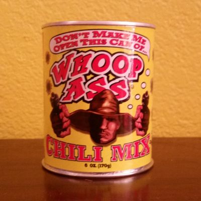 Whoop Ass Chili Mix Heat this great chili to your liking, It really does kick ass!