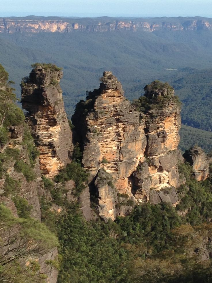 January 1st A night in the Blue Mountains to celebrate our 34th wedding anniversary (tomorrow!). The iconic 3 sisters never change, just like us!