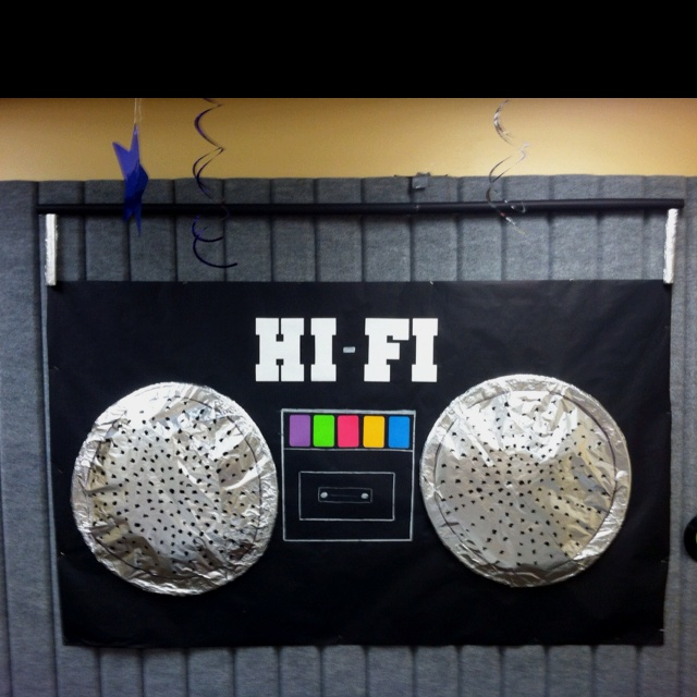 Boom Box Decoration for music or hip hop themed parties  Speakers
