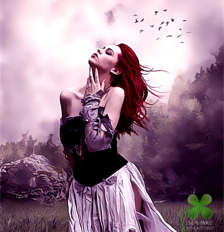 Freedom ...  #ellallanne #ellalannedesignstudio #digitalart #digitalpainting #artist #designer #emotional #freedom #feelfree