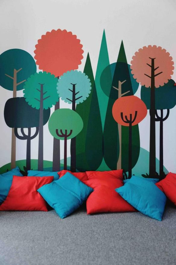 This would be cool for the 4th / 5th grade room --  i would love pillows for an option sometimes