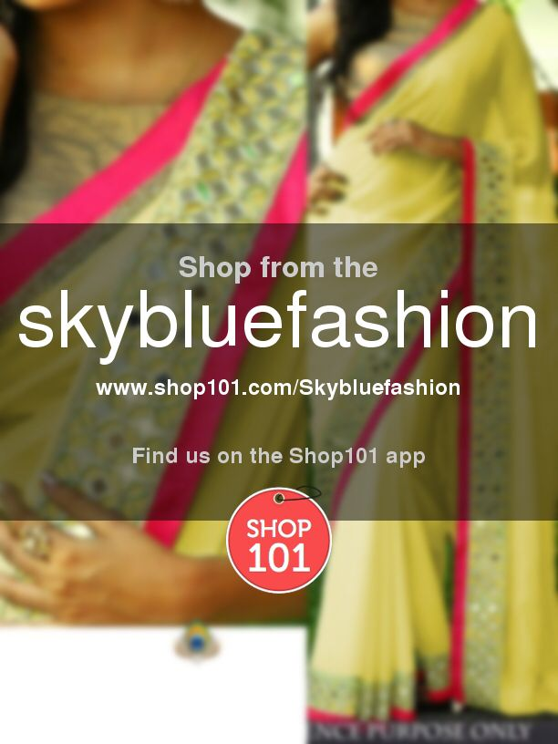 Buy all varieties of blouse, suit, gown, lehnga choli, saree from my website - https://www.shop101.com/Skybluefashion Or WhatsApp at 9825125532