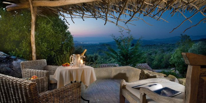 """Petra Segreta Resort, Italy (Spotted via journal.massimodutti.com) ... """"Five-hectare forest of rare beauty, with the dark green of the junipers and Holm-oaks and the wind-carved white granite rocks"""""""