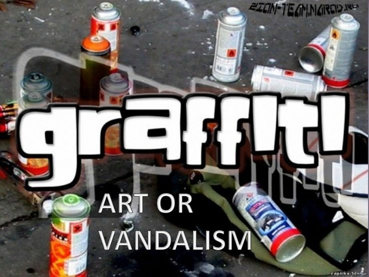 Graffiti art is a form of self-expression. It's another way artists can show their talent and opinions to the public. Graffiti is street art, often done over a…