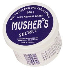 Musher's Secret Dog Paw Pad Protection Wax | Mushers Wax All Natural Dog Paw Pad Protection