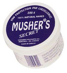 Necesario para los cojinetes: Musher's Secret Paw Pad Protection Wax