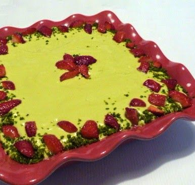 Il pennello di cioccolato: Tiramisù pistacchio e fragole