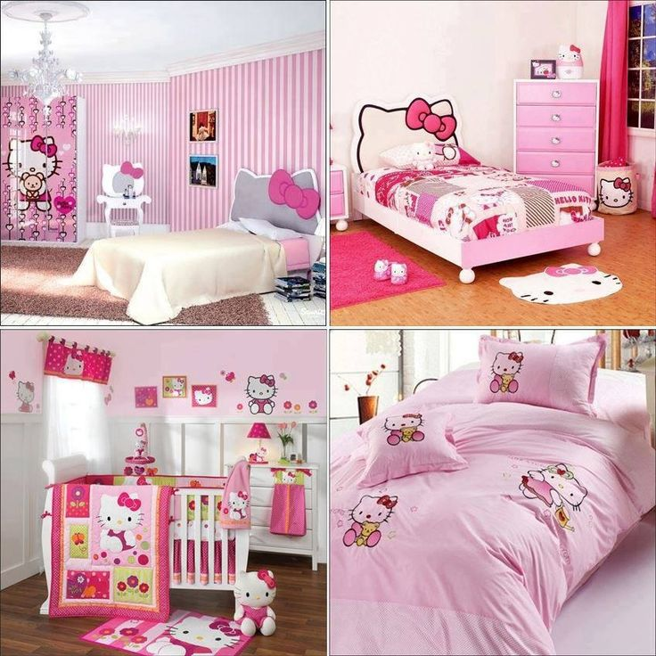 Hello Kitty room!!