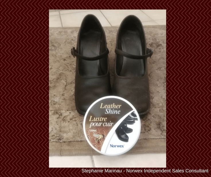 Norwex Leather Shine! It naturally cleans and restores