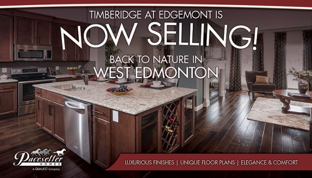Take a look at the community of Timberidge in Edgemont; in west Edmonton #yeg