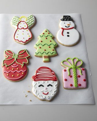 Christmas Cookie Set by O MY GOODNESS at Horchow. #HorchowHoliday14