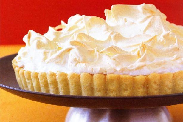 Lemon lime meringue tart main image