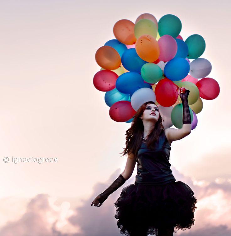 balloons fashion photography - photo #6