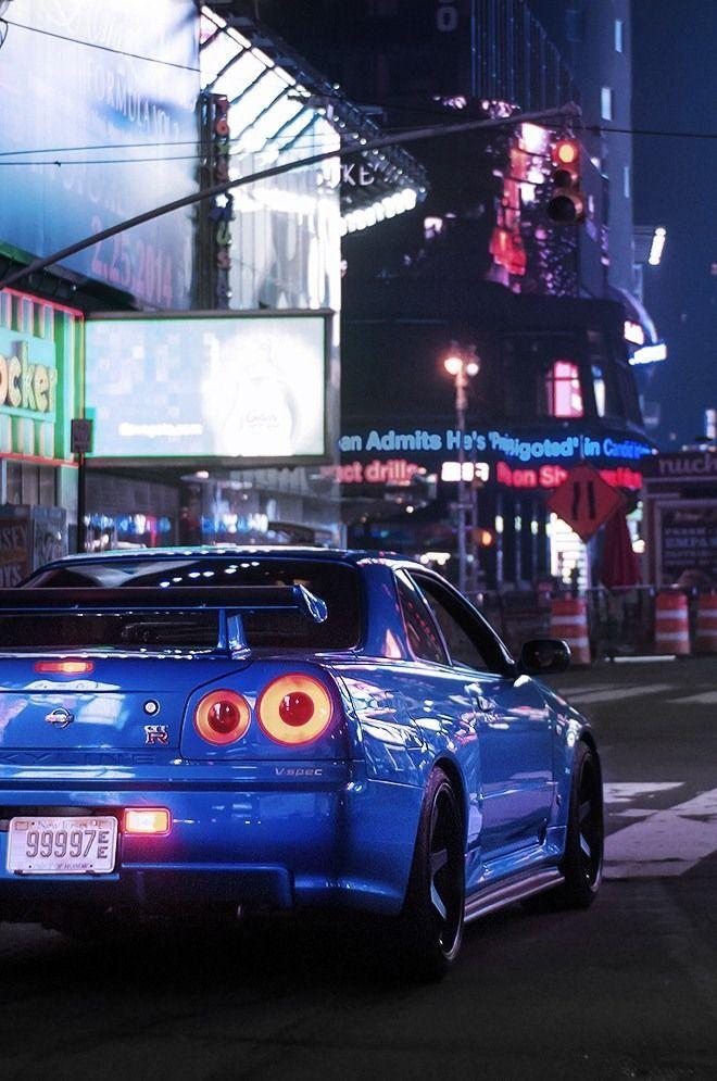 Nissan Skyline GT-R V-spec https://www.instagram.com ...