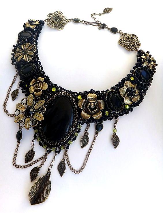 "Gallery.ru / Photo # 1 - Necklace ""Iron Lady"" - Chikineva"