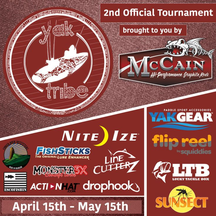 Yak Tribe Tournament - So many sponsors and good prizes! http://yak-tribe.com/tournament/