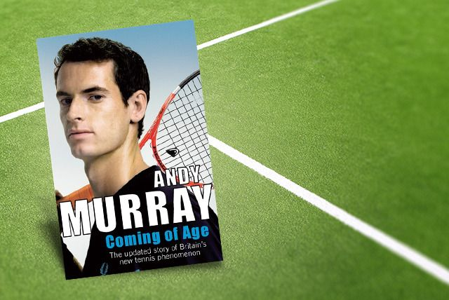 £4.99 instead of £8.99 (from Random House) for Andy Murray's autobiography 'Coming of Age' - save an ace 44%
