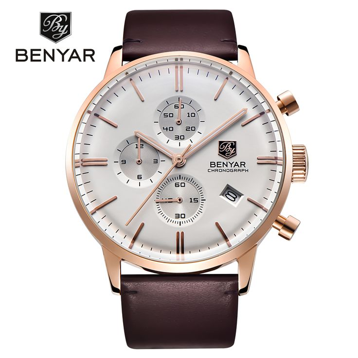 Relogio Masculino 2016 BENYAR Brand Watch Fashion Casual Sport Quartz Watches Men Dive 30M Genuine Leather Wristwatch man clock     Tag a friend who would love this!     FREE Shipping Worldwide     Buy one here---> https://shoppingafter.com/products/relogio-masculino-2016-benyar-brand-watch-fashion-casual-sport-quartz-watches-men-dive-30m-genuine-leather-wristwatch-man-clock/