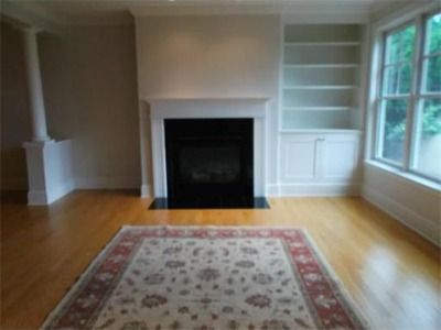 Fireplace With Built Ins On One Side In 2019 Fireplace
