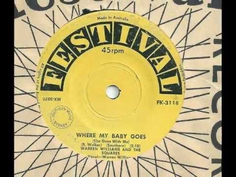 "Warren Williams & the Squares - ""Where My Baby Goes (She Goes With Me)"" - YouTube"