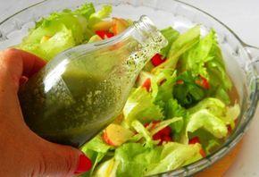 Molhos light para saladas