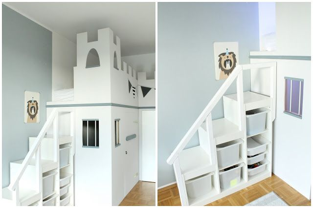 Ein neues Ritterzimmer für Little L mit einem IKEA Hack für ein Ritterburg Zimmer