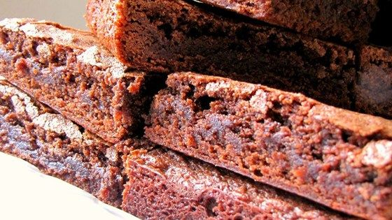 These easy scratch-made chocolate brownies take less than 45 minutes to get from mixing bowl to plate.