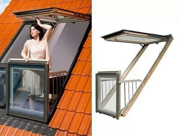 A Balcony Window You Can Step Out Into | 31 Remodeling Ideas You Obviously Need In Your Future Home