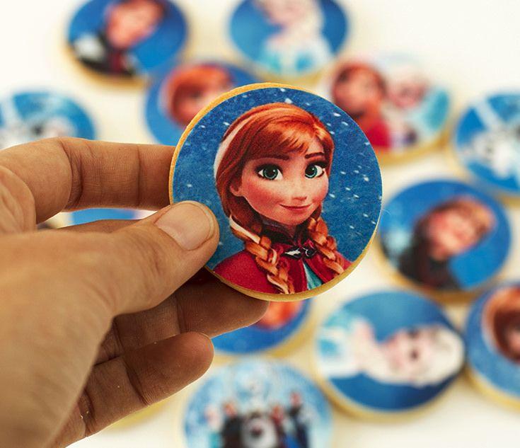 Postreadicción galletas decoradas, cupcakes y pops: Galletas decoradas Frozen