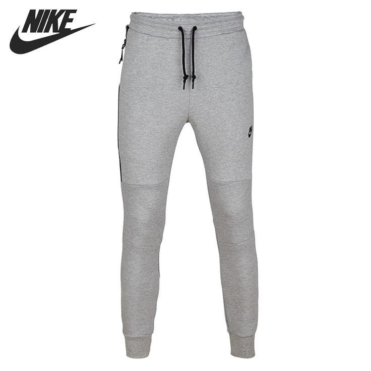 Barato TECNOLOGIA de LÃ PANT 1MM Confortável dos homens originais NIKE Sportswear Calças de Malha frete grátis, Compro Qualidade Tênis Calças diretamente de fornecedores da China:
