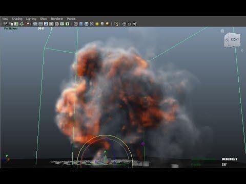 Maya 3D - Dynamic - Fluid Effect - Barrel - YouTube