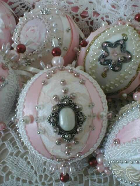 Victorian christmas ornaments made by Babu Szabo