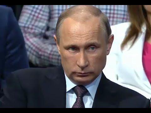 Вопрос Путину прямо в лицо о прогнившей власти! Жесть!!!