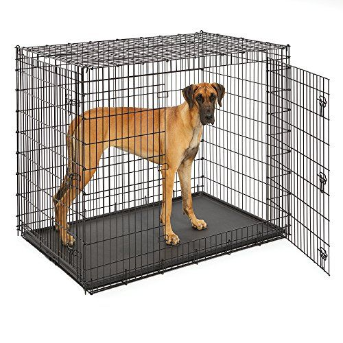midwest extra large dog breed great dane heavy duty metal dog crate w