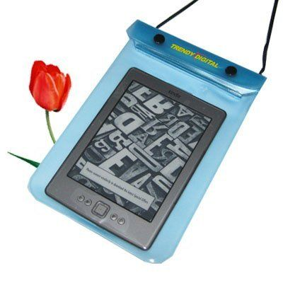TrendyDigital WaterGuard Waterproof Case for Kindle (Kindle 2011), Blue by TrendyDigital. Save 20 Off!. $15.99. Waterproof Case for  Kindle 4 Our popular waterproof case for Kindle eReader has been revamped with new generation waterproof material.  The softer, tougher material has higher degree abrasion resistant property. It has superior physical strength and elasticity. It will not  harden over time. It is low temperature resistance, breathable and odorless. It is more enviro...