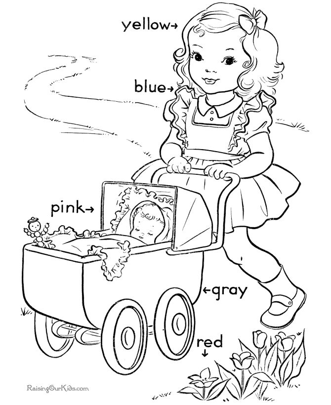 68 best images about Pre K colouring