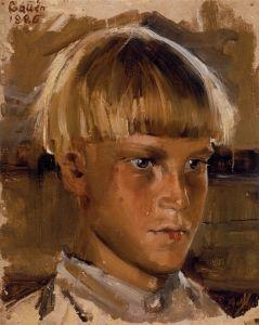 Orphan Boy Akseli Gallen-Kallela - 1886