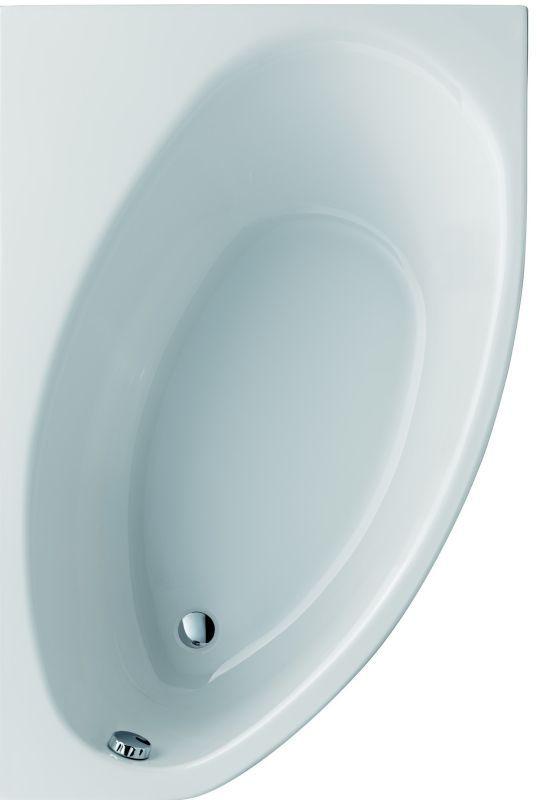 SPHINX B45/300 hoekbad 150 x 100 cm WIT