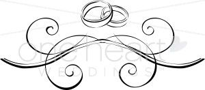 Image for Two Wedding Rings Drawing