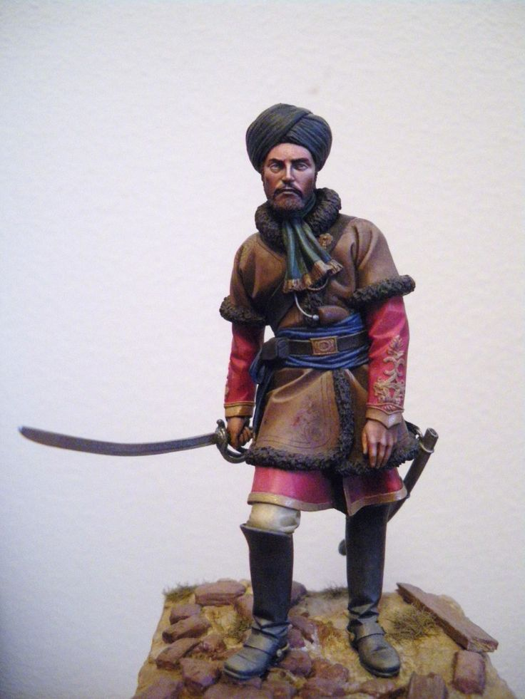 Officer 2nd punjab cavalry lucknow 1857 miniatures