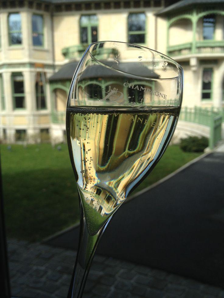 Dégustation de Champagne Vranken Diamant à la Villa Demoiselle (Reims)