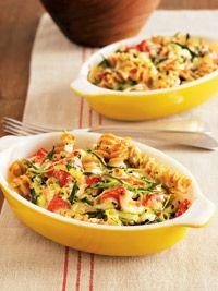 Zucchini Rotini - Healthy Recipe Finder | Prevention.  use this link to see recipe: http://recipes.prevention.com/Recipe/ZucchiniRotini.aspx