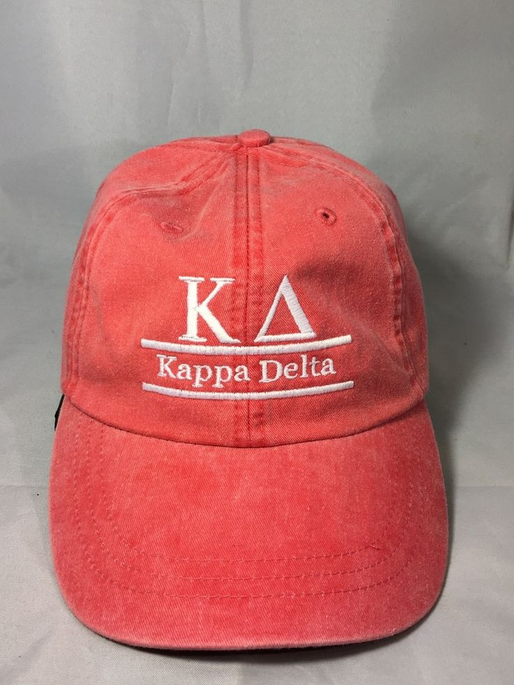 Kappa Delta Sorority Hat- Poppy - Brothers and Sisters' Greek Store