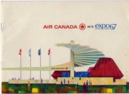 air canada, montreal 1967