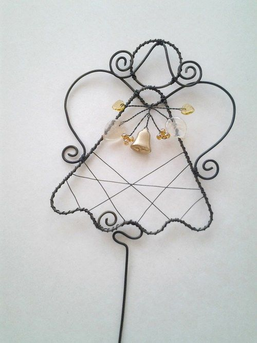 225 best Angels - wire images on Pinterest   Wire crafts, Wire art ...