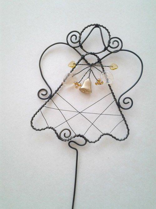 Andělka se zvonečkem zlatým - zápich