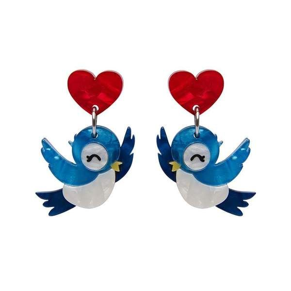 Fowl Be Yours Earrings In 2020 Digital Gift Card Blue Bird Digital Gifts