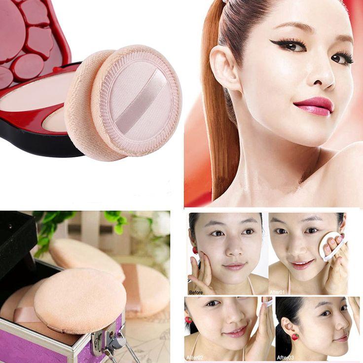 New Arrivals Makeup Powder Puffs Cosmetics Beauty Foundation Makeup Soft Sponge Lady Gift 6 pcs Women Beauty Facial Puffs M03446